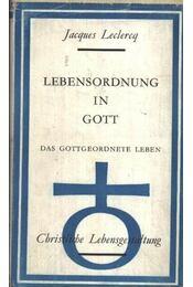Lebensordnung in Gott - Régikönyvek