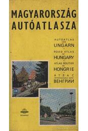Magyarország autóatlasza - Régikönyvek