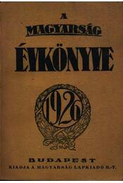A Magyarság évkönyve 1926. - Régikönyvek