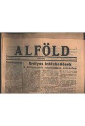 Alföld 1946. március 10. - Régikönyvek