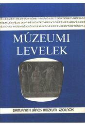 Múzeumi levelek 43-44. sz. - Régikönyvek