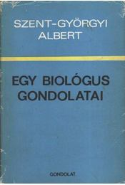 Egy biológus gondolatai - Régikönyvek