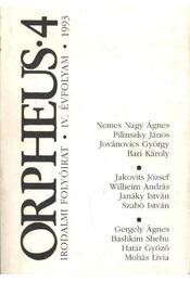 Orpheus 1993/4. szám - Régikönyvek