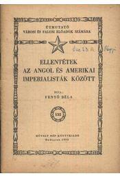 Ellentétek az angol és amerikai imperialisták között - Régikönyvek