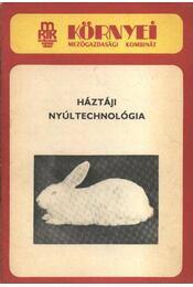 Háztáji nyúltechnológia - Régikönyvek