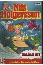 Nils Holgersson 1991/5 36. szám Detektív a kacsaúsztatóban - Régikönyvek