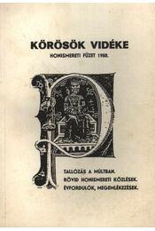 Körösök vidéke - Régikönyvek
