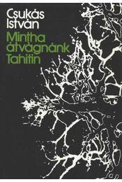 Mintha átvágnánk Tahitin - Régikönyvek
