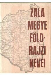 Zala Megye földrajzi nevei - Régikönyvek