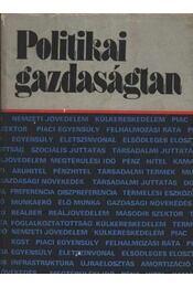 Politikai gazdaságtan - Régikönyvek