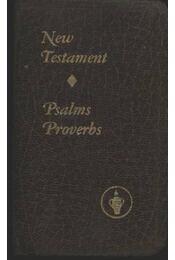 New Testament -Psalms Provebs - Régikönyvek