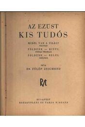 Az ezüst kis tudós - Régikönyvek
