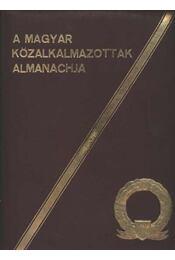 A magyar közalkalmazottak Almanachja - Régikönyvek
