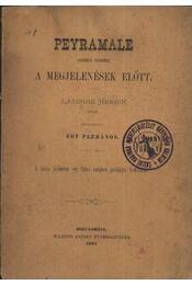 Peyramale lourdesi plébános a megjelenések előtt - Régikönyvek