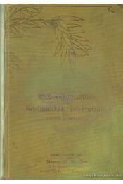 Enczyklopaedia, a női kézimunkák ismerettára - Régikönyvek