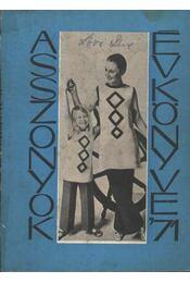 Asszonyok évkönyve '71 - Régikönyvek