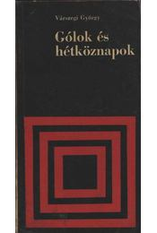 Gólok és hétköznapok - Régikönyvek