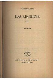 Ida regénye I-II kötet egyben - Régikönyvek