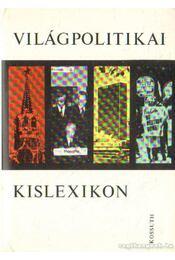 Világpolitikai kislexikon - Régikönyvek