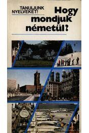 Hogy mondjuk németül? - Régikönyvek