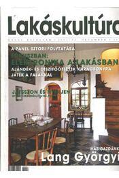 Lakáskultúra 2001/12. december - Régikönyvek