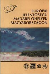 Európai jelentőségű madárélőhelyek Magyarországon - Régikönyvek