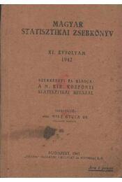 Magyar statisztikai zsebkönyv XI. évfolyam 1942 - Régikönyvek