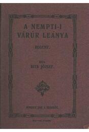 A nempti-i várúr leánya (dedikált) - Régikönyvek