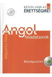 Angol feladatsorok középszint - CD melléklettel - Régikönyvek