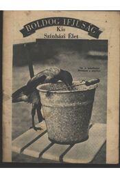 Kis Szinházi Élet 1936. 29. szám - Régikönyvek