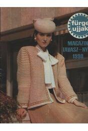Fürge ujjak Magazin tavasz-nyár 1990 - Régikönyvek