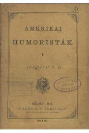 Amerikai humoristák I. - Régikönyvek