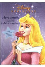 Hercegnők matricás foglalkoztatókönyve - Régikönyvek