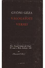 Gyóni Géza válogatott versei - Régikönyvek