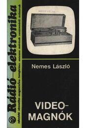Videomagnók - Régikönyvek