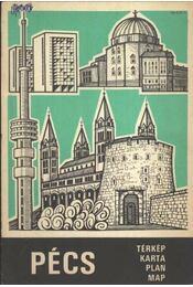 Pécs (térkép) - Régikönyvek