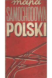 Mapa Samochodowa Polski (térkép) - Régikönyvek