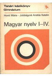 Magyar nyelv I-IV. - Régikönyvek
