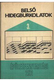 Belső hidegburkolatok - Régikönyvek