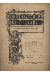 Nimród-Vadászlap 1921. szept. 15. - Régikönyvek