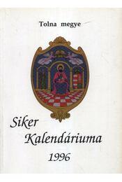 Siker kalendáriuma 1996. - Régikönyvek