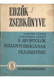 A sportolók ruganyosságának fejlesztése - Régikönyvek