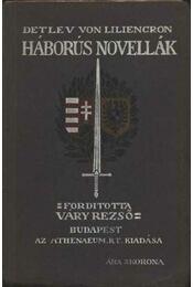 Háborús novellák - Régikönyvek