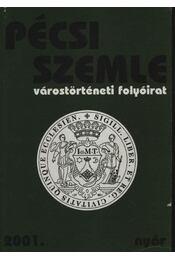 Pécsi Szemle 2001. IV. évfolyam 2. szám Nyár - Régikönyvek
