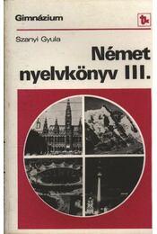 Német nyelvkönyv a gimnázium III. osztálya számára - Régikönyvek