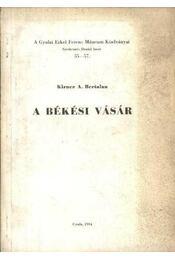 A békési vásár - Régikönyvek