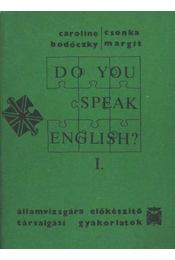 Do you speak English? I-II. kötet - Régikönyvek