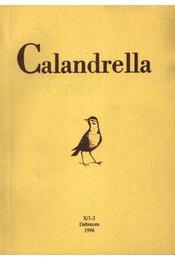 Calandrella 1996. X/1-2. - Régikönyvek