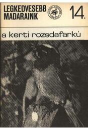 Legkedvesebb madaraink 14. A kerti rozsdafarkú - Régikönyvek