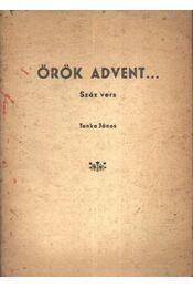 Örök advent... (aláírt) - Régikönyvek